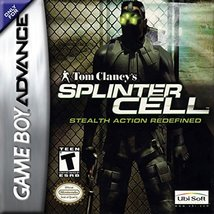 Tom Clancy's Splinter Cell [Game Boy Advance] - $3.91