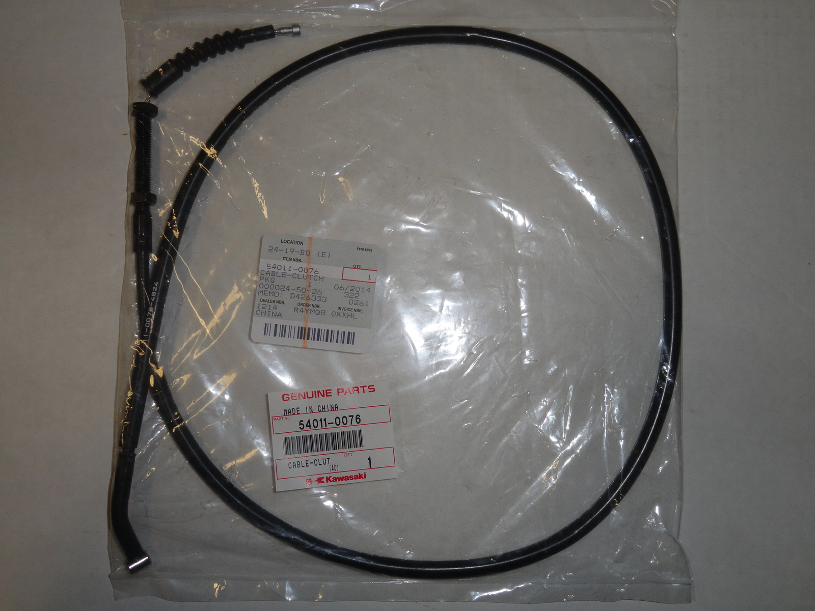 Clutch Cable Oem Ninja Zx600 R Zx 600 R Zx6 and 50 similar items on