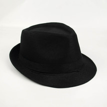 2018 Brand New Fashion Floppy Jazz Hat Pure Men Women's Large Brim Caps ... - $10.37