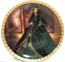 Barbie as Scarlet O'Hara Collector Plate Gone w... - $49.95
