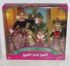 Barbie Kelly Stacie Barbie Doll Holiday Sister ... - $149.95