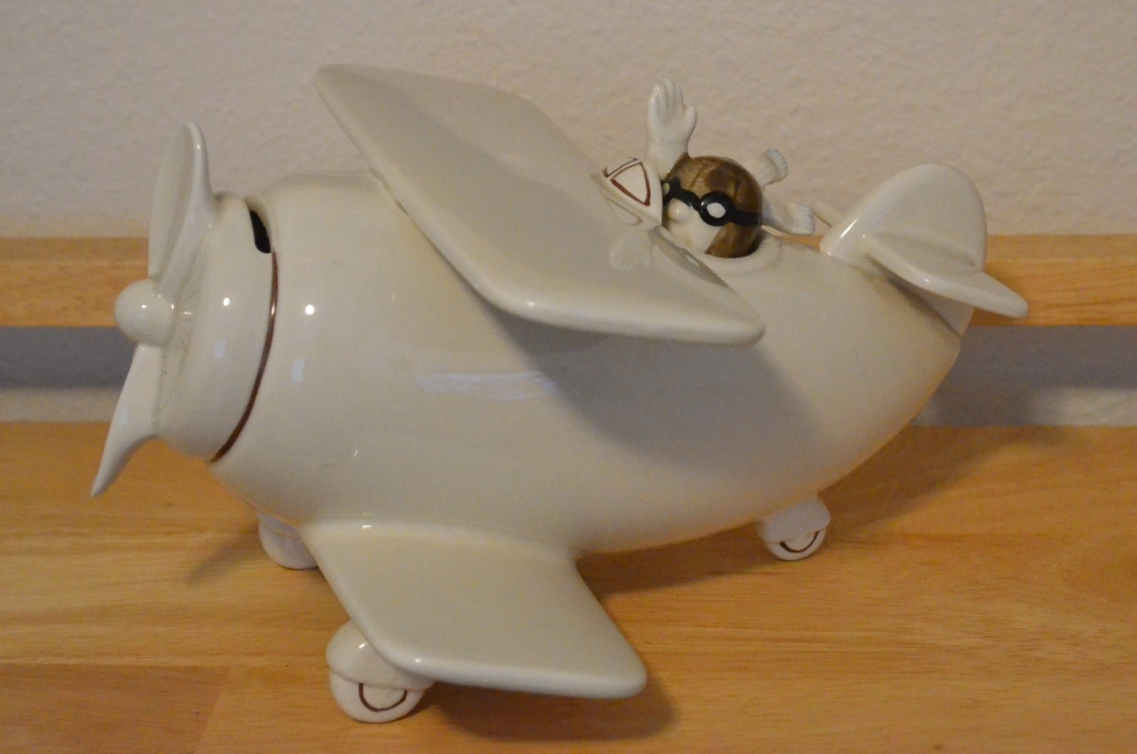 fitz u0026 floyd airplane bi plane ceramic and 50 similar items