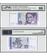 Germany 10 Deutsche Mark, 1999, P-38d, UNC, C.F... - ₨1,634.05 INR