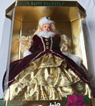 Happy Holidays Barbie Christmas 1996 [Brand New] - $59.45