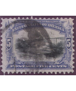1901 #297 5cent  & #298 8cent Pan-American Expo - free shipping - $24.50