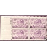 1935-39 3cent #773 #782 #838 Plate Block of 4 - #854 Plate Block of 6 - ... - $14.70