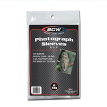 200 - 5x7 Photo Protectors Postcard Soft Poly Sleeves BCW - $15.99