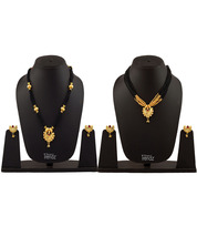 Womens Trendz Combo Pack of Two Traditional, Ethnic and Antique 24K Gold Plated  - $47.00