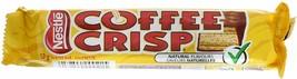 10 Coffee Crisp Chocolate Bars Full Size 50g Each Nestle Canada Fresh Delicious - $19.75