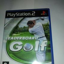 Leaderboard Golf Game For Sony PlayStation 2 2006 - European Version Retro - $6.94