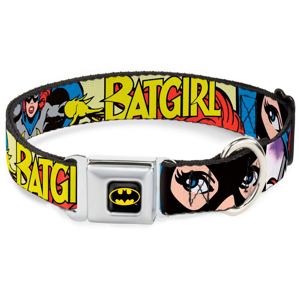Batman`s Batgirl Mask Dog Collar