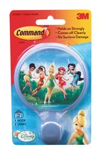 An item in the Home & Garden category: 3M Command Self Sticking Large Fairies Round Hook [Brand New]