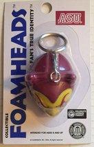 NCAA Arizona State Sun Devils Foamhead Keychain [Brand New] - $9.76