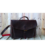 Genuine Leather Mens Briefcase Laptop Business Bag - $139.00