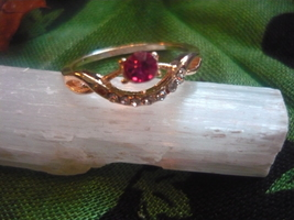 PARANORMAL CASTED ON THE BLACK MOON RING OF LOVE SIZE 9 - $80.00