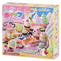 Fake Sweets Making Kit Whipple Mix Cream Party Japanese DIY FROM JAPAN - $47.12