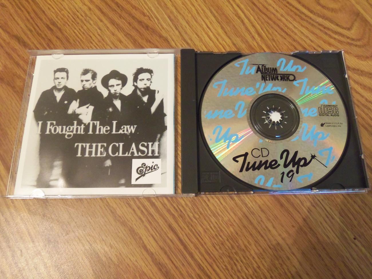 The Album Network Cd Tune Up #19 Promo 1988 Cd Iggy Pop Clash Del Lords More