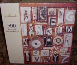 "500 Piece Puzzle ""Homespun Alphabet"" [Brand New] - $33.65"