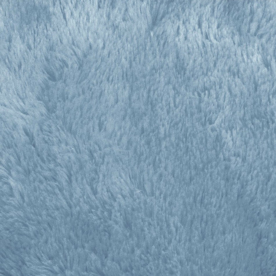 Snuggle shag mini minky baby blue 54 inch fabric by the for Baby fabric by the yard