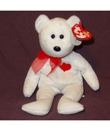 Casanova Bear Ty Beanie Baby Valentine Plush Stuffed Animal Toy 2006 wit... - $8.21