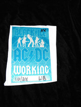 Backstage Pass 2000s ACDC World Tour 2008-9 Working 10/28 - $15.99