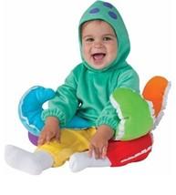 NEW Rainbow Octopus Costume Baby Size 6-12 Months Rubies Noah's Ark Hall... - $14.46
