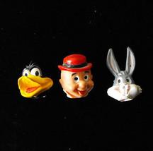 Looney Tunes Pencil Toppers Elmer Fudd Daffy Duck Bugs Bunny 1981 Dakin - $19.99