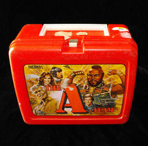 A-Team A Team Plastic Lunch Box 1983 Made by Thermos - $20.00