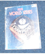 World Series Program 1978 MLB baseball ny yankees - £21.98 GBP
