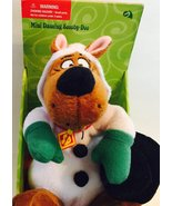 "SCOOBY DOO 9"" Snowman Animated Singing Plush Dancing Christmas Toy [Bran... - $69.37"