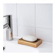 Ikea Dragan Soap dish Bamboo - $11.75