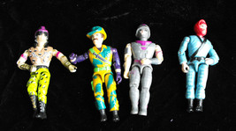 GI Joe 3-3/4 Inch Action Figure Lot Hasbro - $19.98