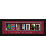 Chapman University Framed Campus Letter Art Print  - $38.50