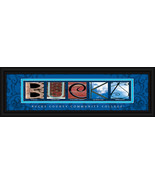 Bucks County Community College Framed Campus Le... - $38.50