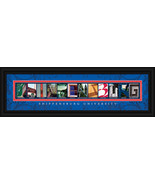 Shippensburg University 8 x 24 Framed Campus Le... - $39.45