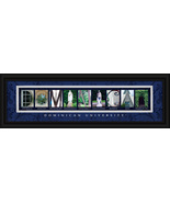Dominican University Framed Campus Letter Art P... - $39.45
