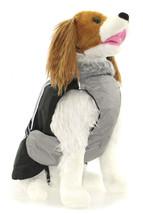 L DOG COAT standard schnauzer dachshund beagle pug DESIGNER DOG JACKET c... - $19.75
