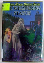 Nancy Drew The Whispering Statue no.14 1st Print Applewood ex-library hc... - $24.00