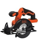 Black Decker 20-Volt Lithium-Ion Circular Saw Tool 5-1/2-In Blade Motor ... - $59.35