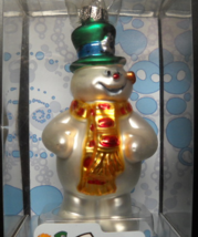 Brass Key Christmas Ornament 2004 Frosty The Snowman Series Frosty Himse... - $14.99