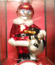Brass Key Christmas Ornament 2004 Santa Claus Is Coming To Town Young Santa Box - $10.99