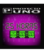 25 Horas [Audio CD] Proyecto Uno - $5.45
