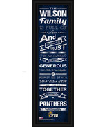 "Florida International ""Panthers"" Personalized 24 x 8 Family Cheer Framed... - $39.95"