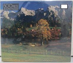 """500 Piece Jigsaw Puzzle """"Golden Autumn Sunset"""" [Brand New] - $27.79"""