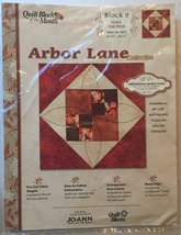 Joann Quilt Block of the Month Arbor Lane Collection #9 [Brand New] - $29.69