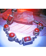 Haunted BRACELET 3X UPROOTING PAIN BREAK CYCLE MAGICK 925 MAHOGANY WITCH Cassia4 - $19.87