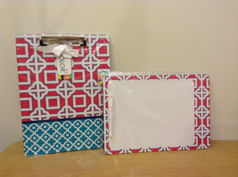 Lot of 2 Office NEW All for Color Dry Erase Board and Clipboard / Notepad Folder
