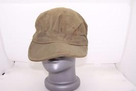 korean war army cap utility og 107 vintage original used - $21.99
