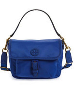 Tory Burch Scout Nylon Crossbody Pouch Slouchy ~Jewel Blue~ NWT $198 - £134.91 GBP