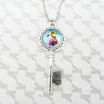 Frozen Glass Cabochon Pendant Key Necklace C/S & H Available - $3.00